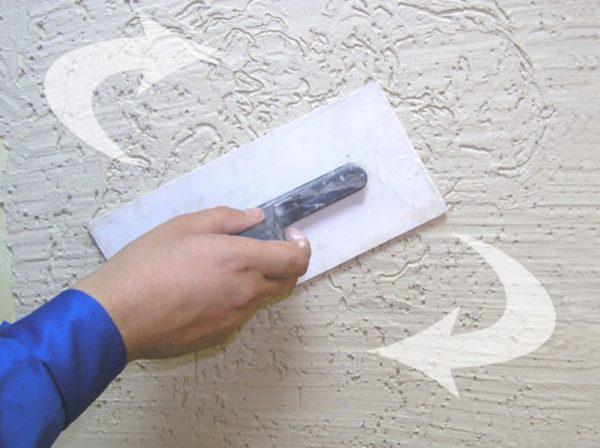 Также можно кельму для декоративной штукатурки купить, отделка короед фасад дома