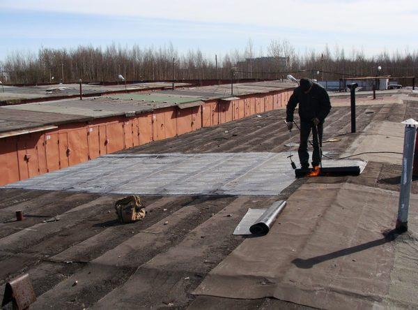 Гидроизоляция бетонной крыши