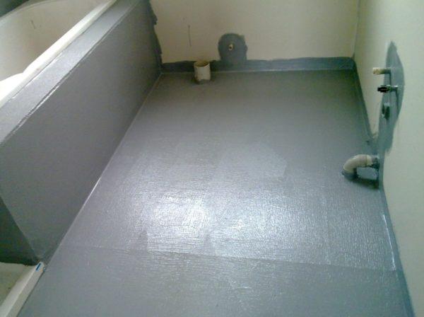 Гидроизоляция под стяжку ванной