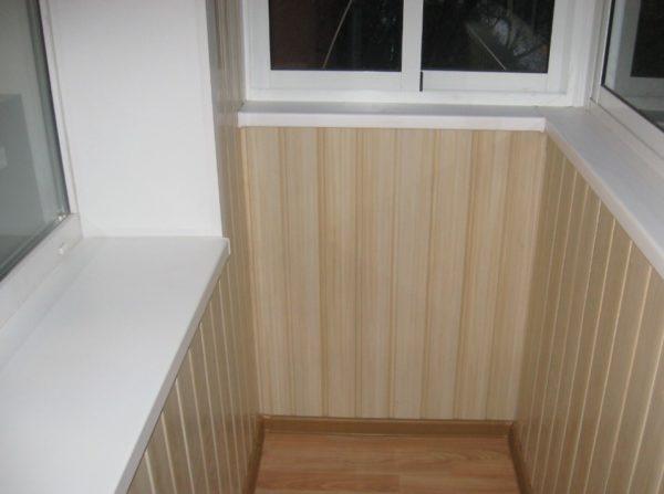 Отделка балкона внутри фото оформления