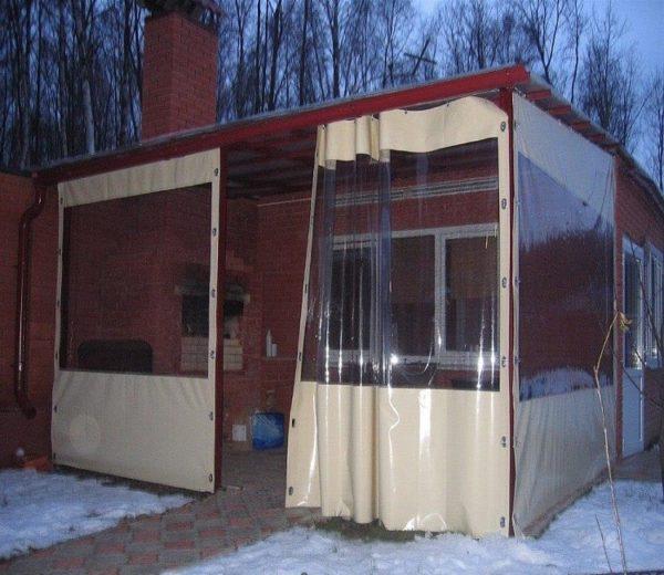 Пластиковые шторы для веранды купить можно через интернет магазин