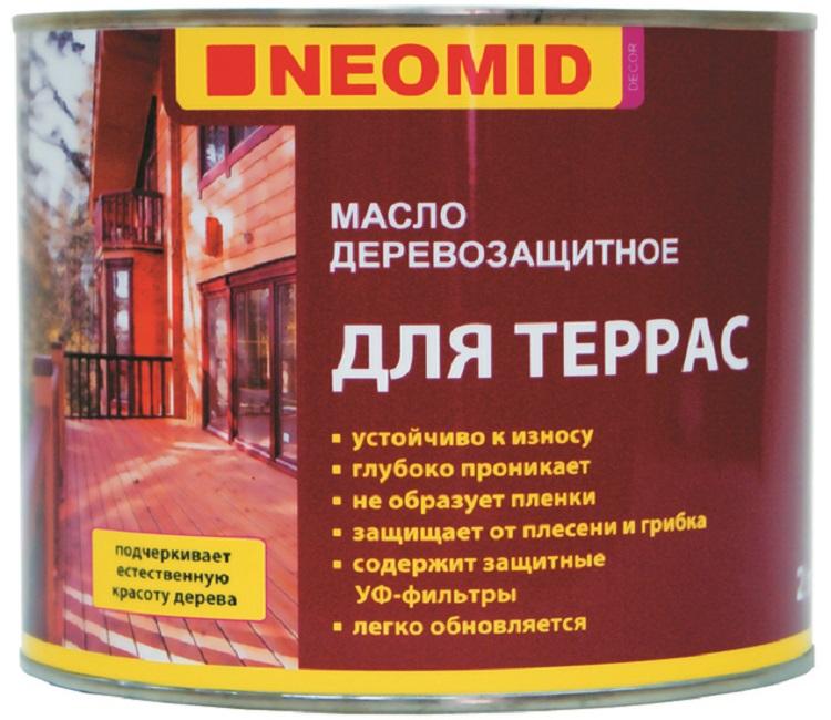 Масло neomid цвета