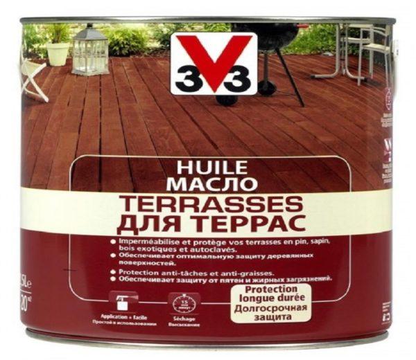 Деревянные ограждения балконов и террас нужно обработать маслом