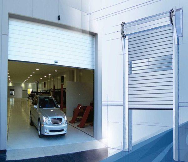 Ворота рольставни на гараж размеры могут перекрыть 21 квадратный метр