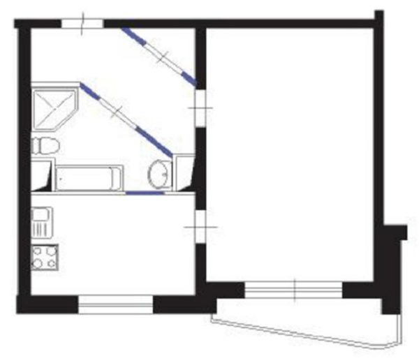 Дома серии 44Т планировка