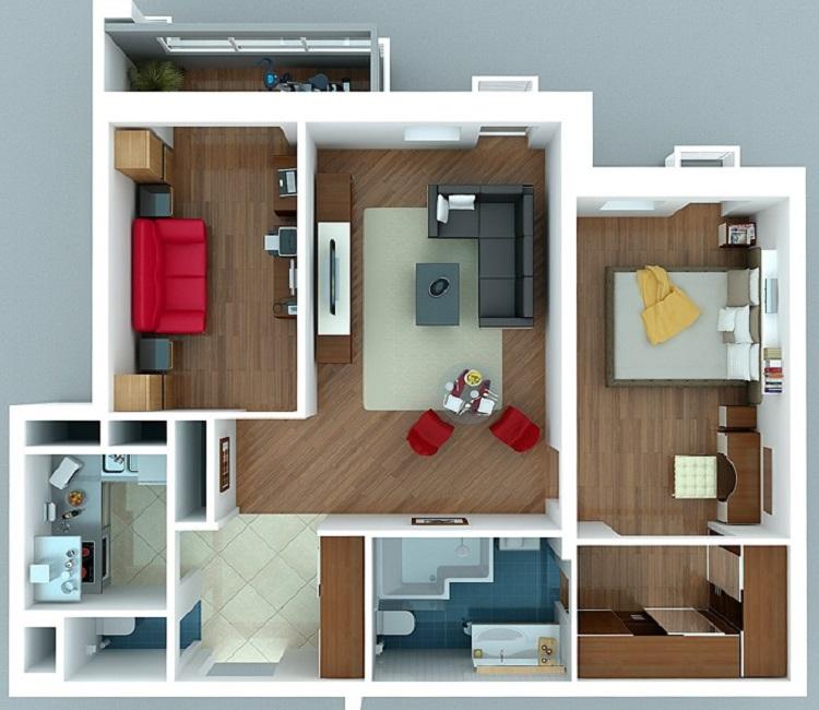 Перепланировка хрущевки: 1, 2, 3, 4 комнатные, фото до и после