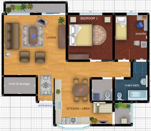 Перепланировка хрущевки 4 комнатной