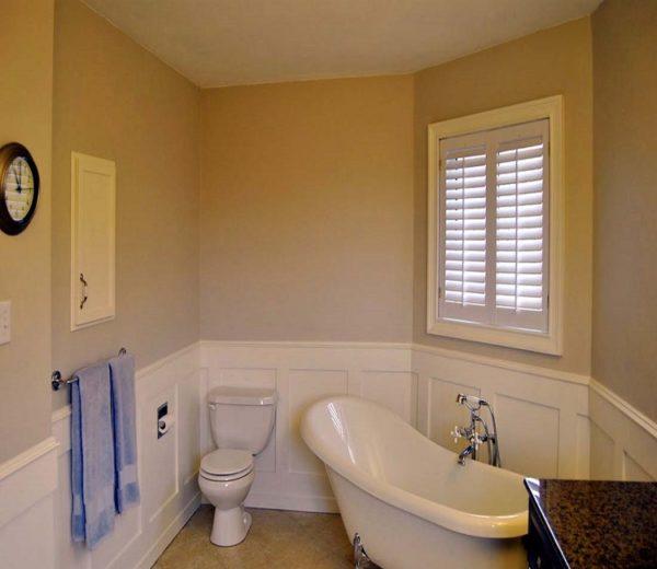 Как выбрать стеклообои для ванны