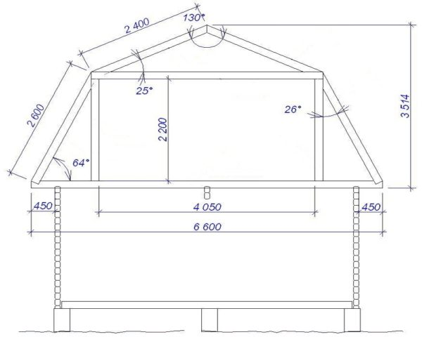 Как построить мансардный этаж, проект
