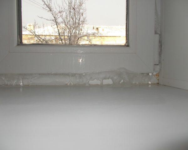 Окна замерзают что делать