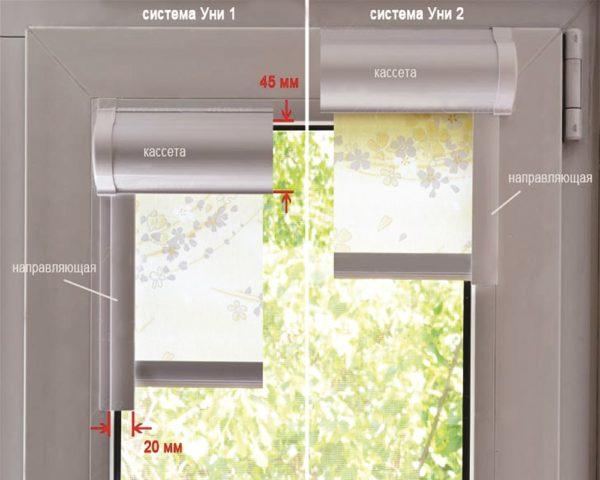 На клей сажают короткие шторы на окна фото
