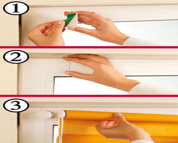 Как установить жалюзи на окна