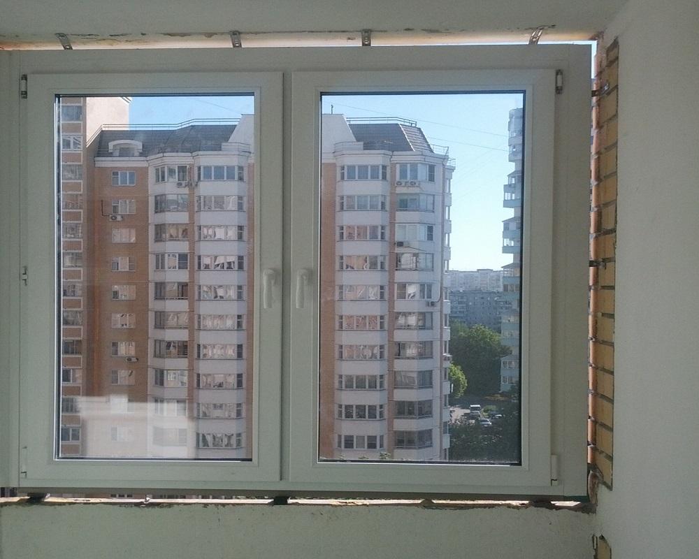 Тройное пластиковое окно цена
