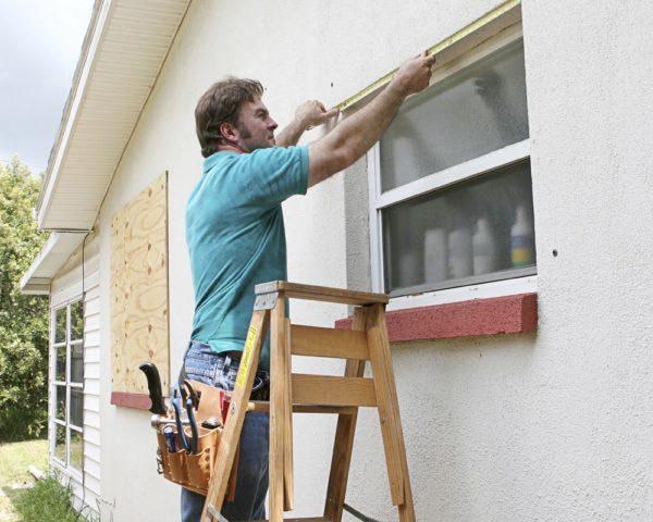 Как замерить окно для москитной сетки