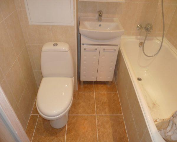 Ремонт ванной комнаты и туалета фото