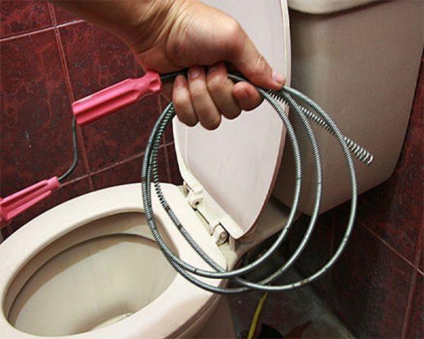 Очистка туалетов