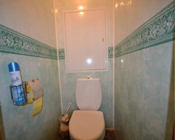Ремонт туалета под ключ с материалами