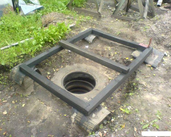 Необходима схема постройки туалета