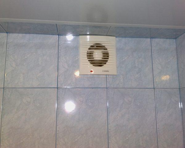 Вытяжная вентиляция в ванной и туалете общая
