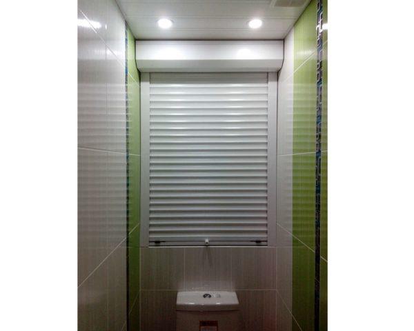 Роль штора в туалет