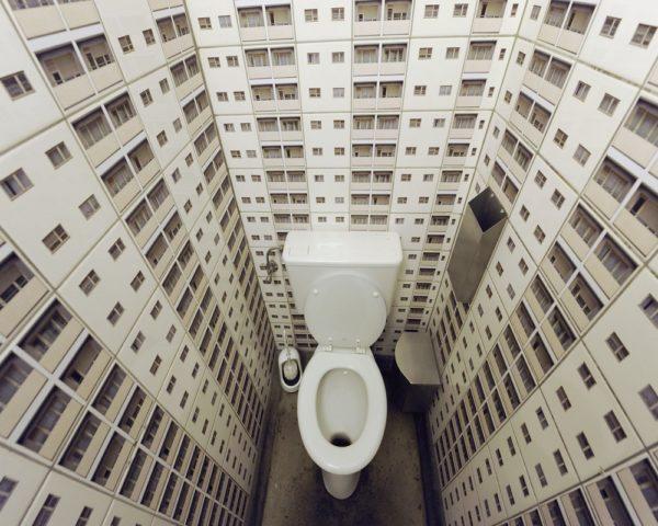 Необычная плитка для туалета фото