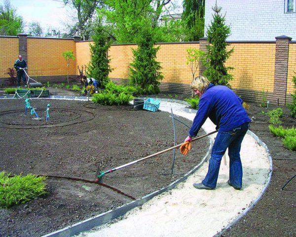 Как сделать ровный газон своими руками