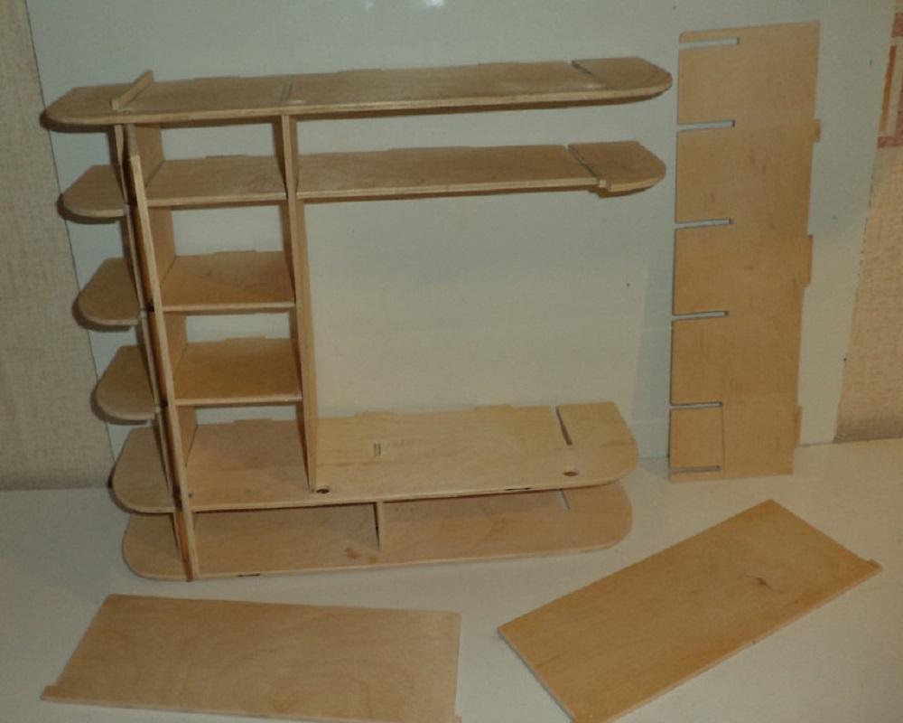 Мебель для кукол из коробок своими руками фото 729