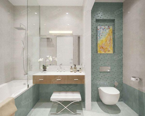 Интерьер ванна с туалетом совмещенные фото