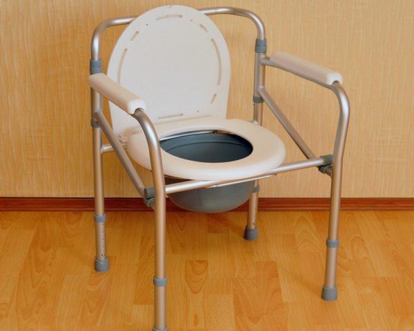 Ведро туалет с крышкой