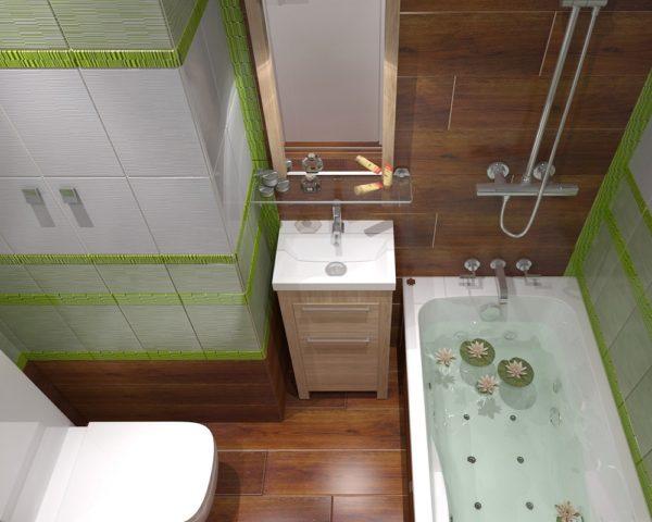 Интерьер совмещенного туалета фото
