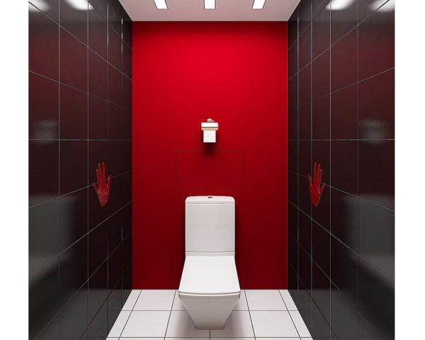 Туалет в стиле