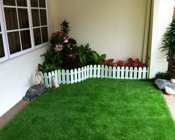 Как укладывать искусственный газон