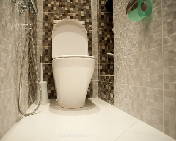 Современная отделка ванных комнат и туалетов фото