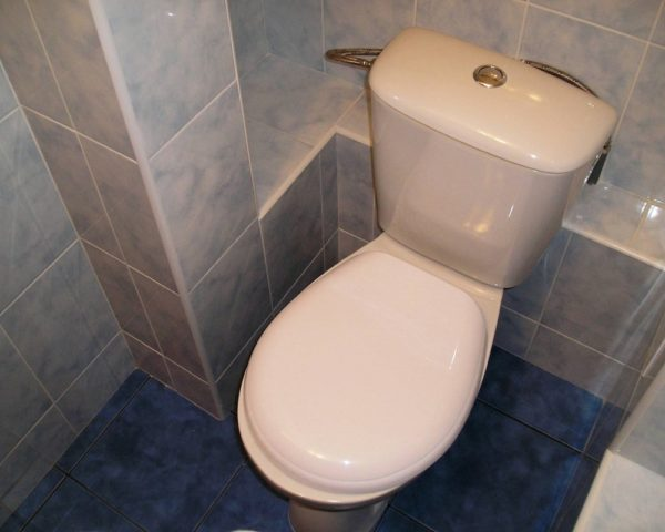 Варианты отделки туалета фото