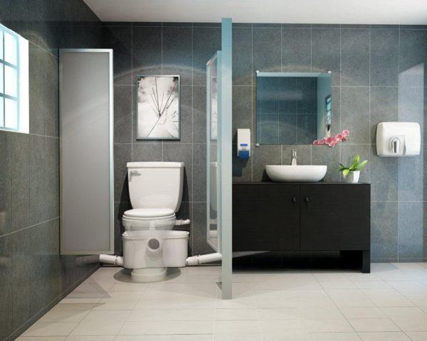 Туалет ванна в частном доме