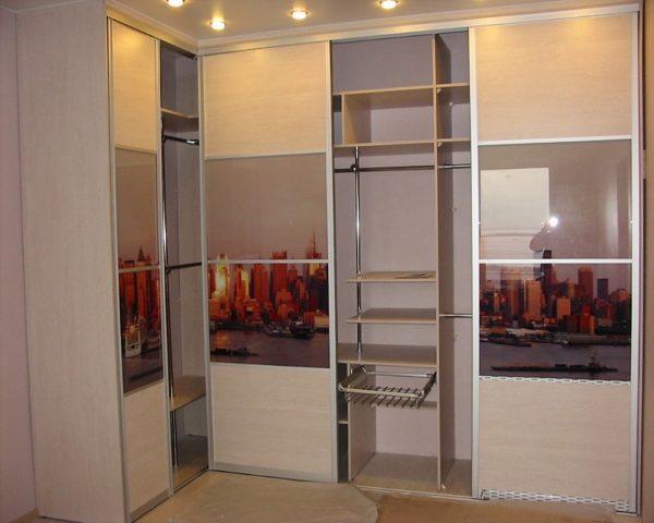 Дизайн встраиваемых шкафов фото