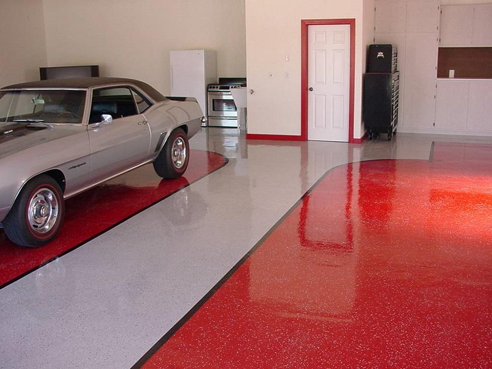 Наливной пол с красителем герметик, мастика для анкеровки в бетон