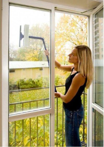 Как помыть балкон