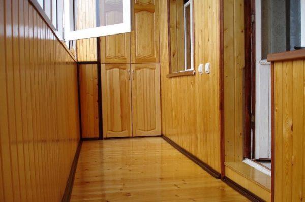 Отделка балкона вагонкой своими руками пошаговая инструкция