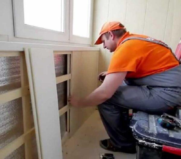 Делаем пластиковый балкон своими руками
