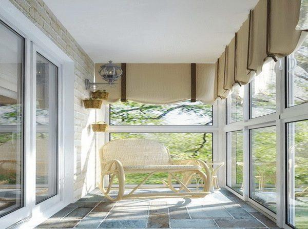 Балкон Прованс это стиль интерьера балкона под старину
