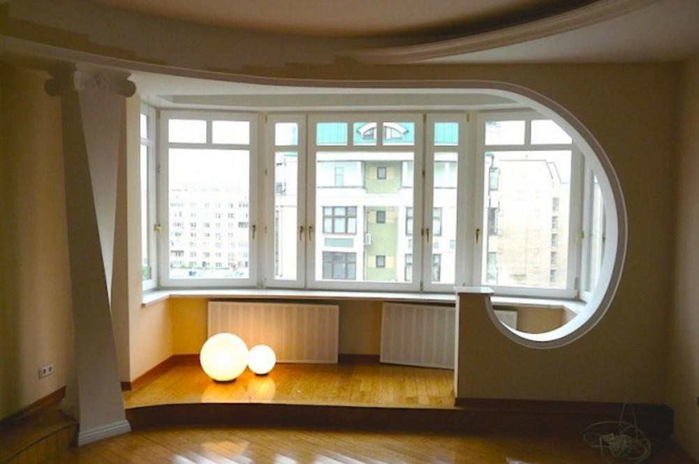 Объединение лоджии с комнатой или кухней совет мастера.