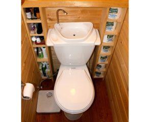 Туалетная комната в своём доме
