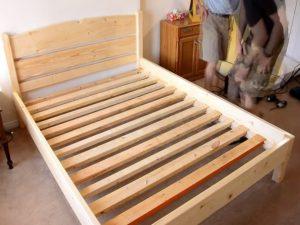Как самому сделать каркас кровати