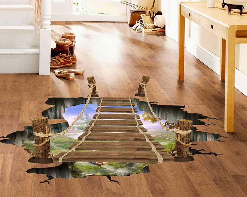 3d наливные полы в фото коридор