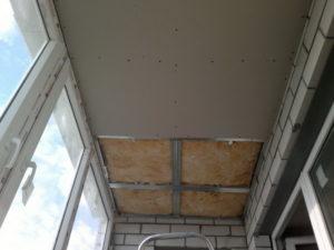 Как гипсокартоном отделать балкон внутри своими руками