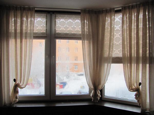 Пошив шторы для балкона на заказ или купить материал и сделать их самому нужной длины и ширины