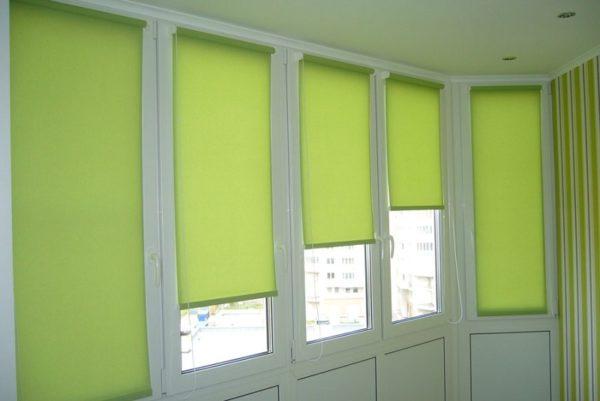 Дизайн штор для балкона фото