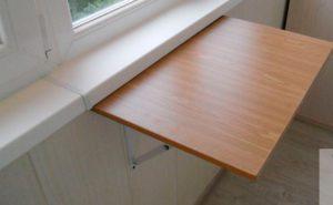 Как самому сделать складной столик на балкон