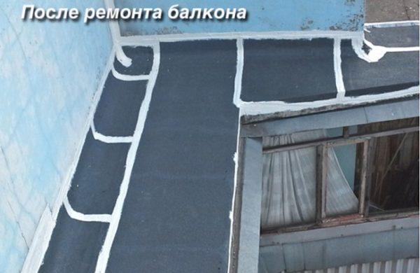 Шумоизоляция крыши балкона стала лучше